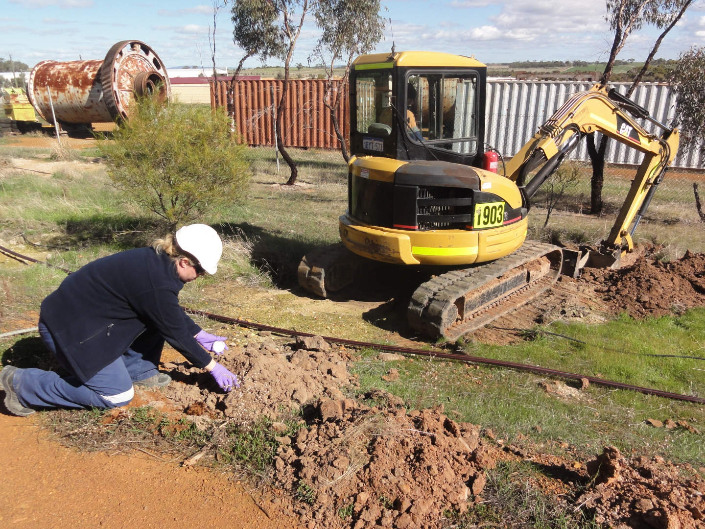 Contaminated Site Investigation & Remediation - Leeming Road, Grass Valley : Image 1