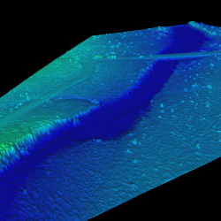 Landform Change Detection using Lidar