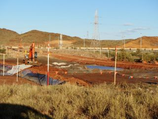 Acid Sulfate Soil Investigation for Gas Pipeline Construction : Image 1