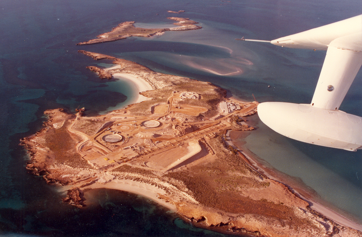 Aerial image of Varanus Terminal under construction