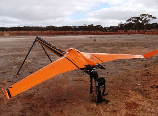 Using UAVs for the collection of remote sensed data